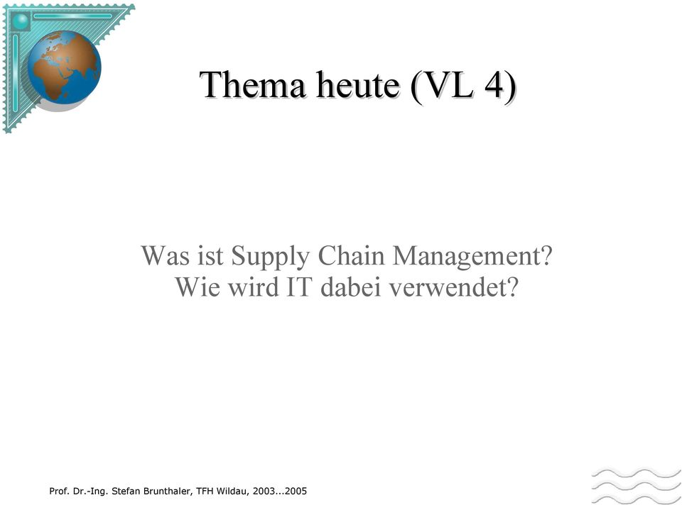 Chain Management?