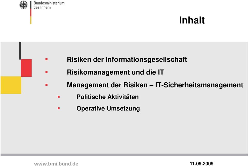 Risikomanagement und die IT Management