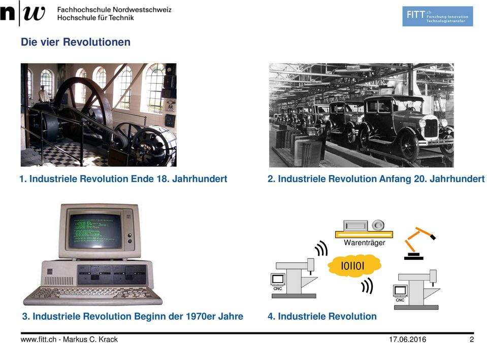 Industriele Revolution Anfang 20.