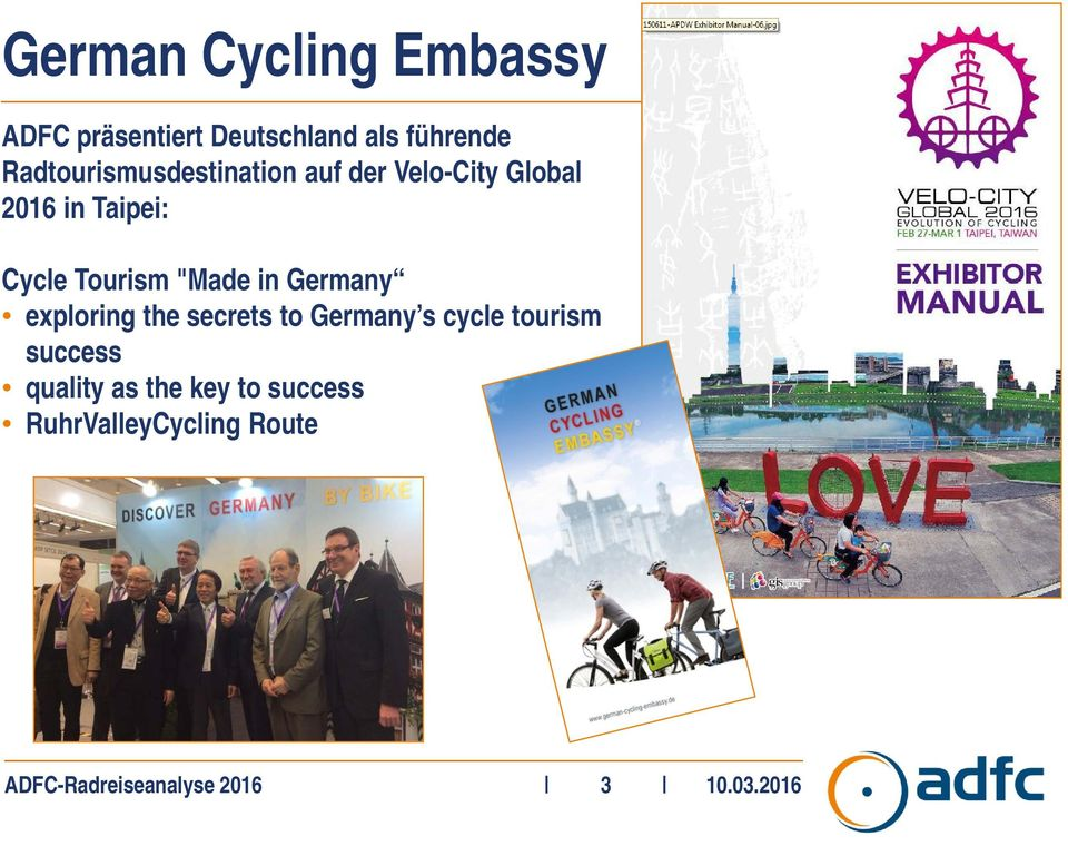 "Tourism ""Made in Germany exploring the secrets to Germany s cycle tourism"