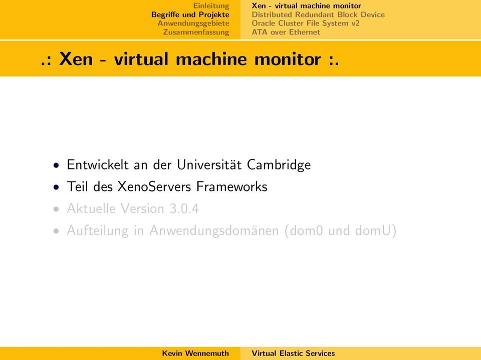 : Xen - virtual machine monitor :.
