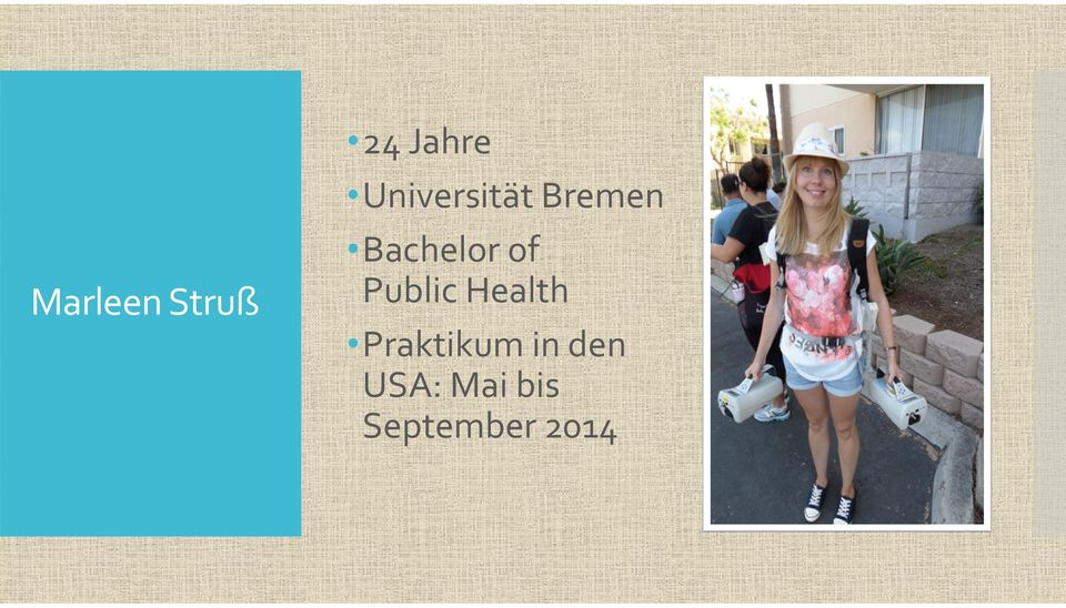 of Public Health Praktikum