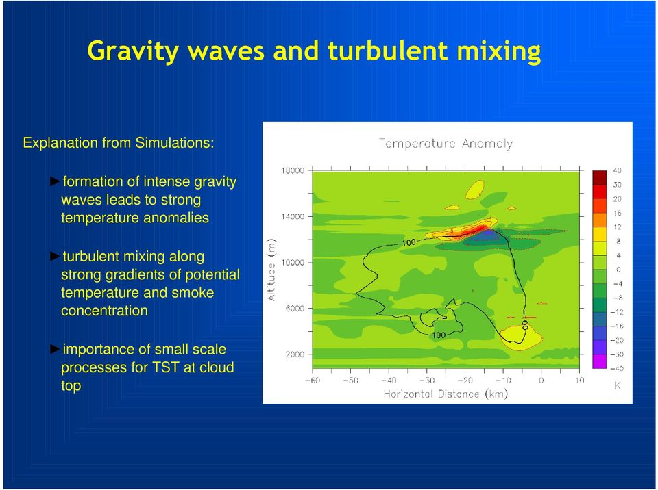 anomalies turbulent mixing along strong gradients of potential