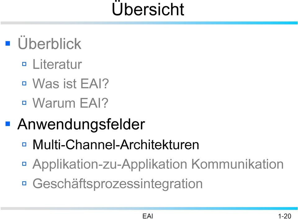 Multi-Channel-Architekturen