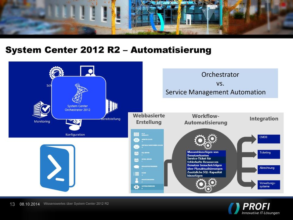 Service Management Automation 13