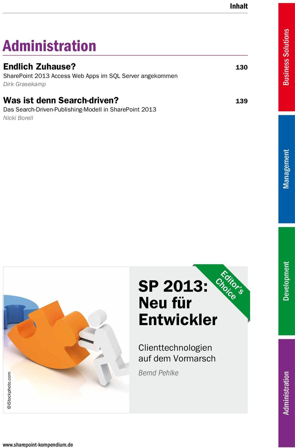 139 Das Search-Driven-Publishing-Modell in SharePoint 2013 Nicki Borell istockphoto.