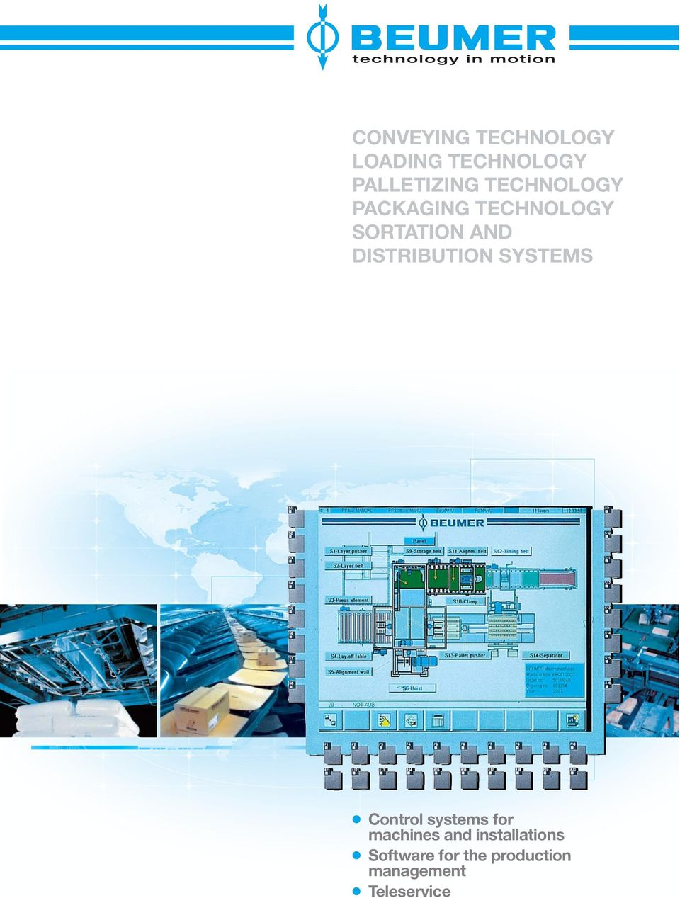 DISTRIBUTION SYSTEMS Control systems for machines and