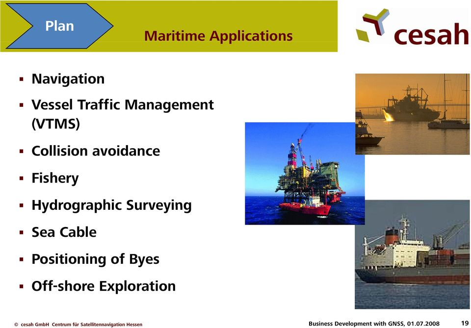 Hydrographic Surveying Sea Cable Positioning of Byes
