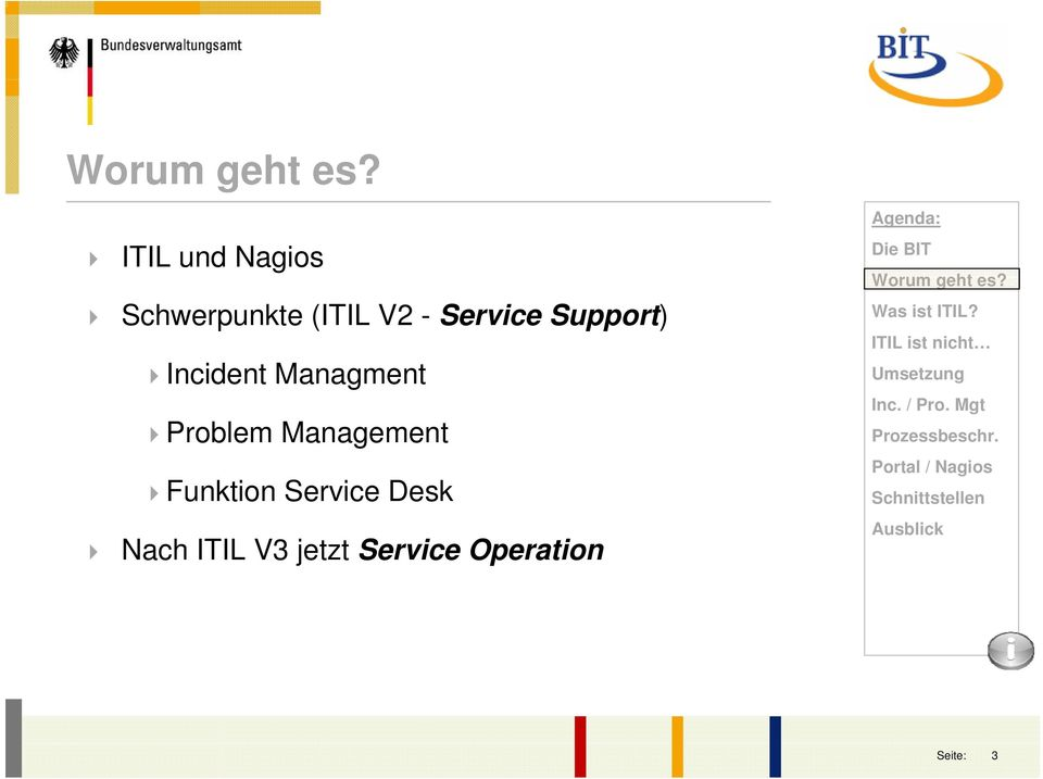 Problem Management Funktion Service