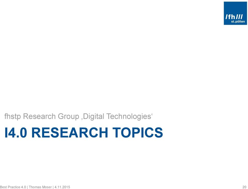 0 RESEARCH TOPICS Best