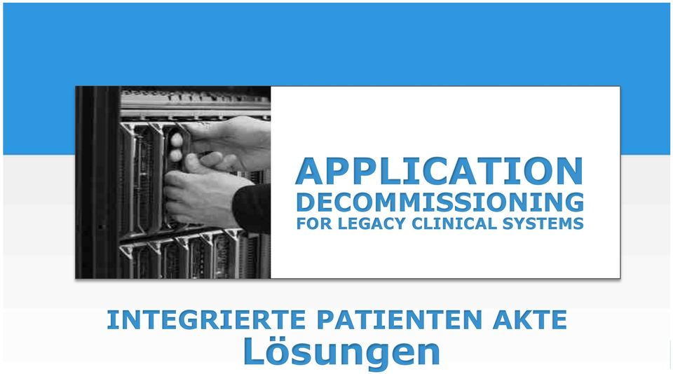 LEGACY CLINICAL SYSTEMS