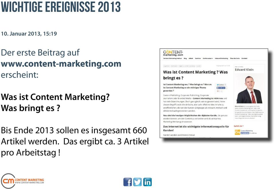 content-marketing.com erscheint: Was ist Content Marketing?