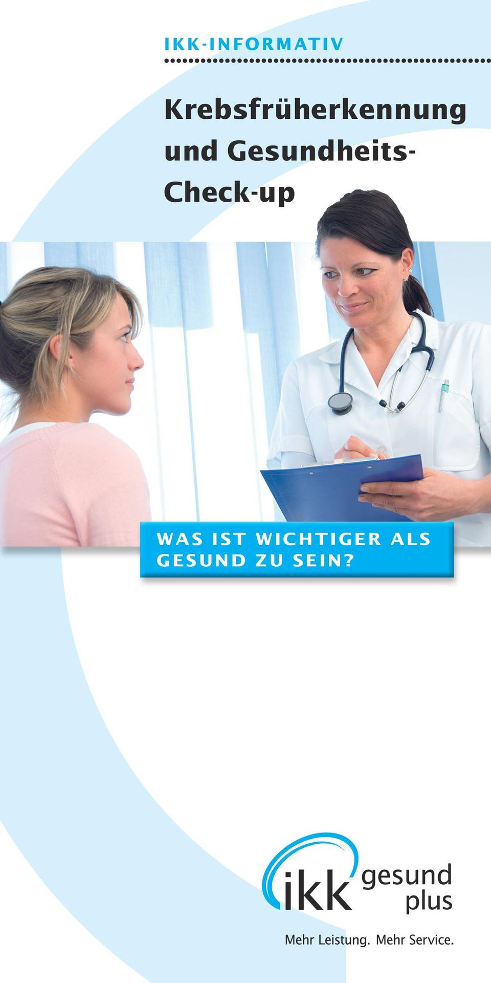Gesundheits- Check-up