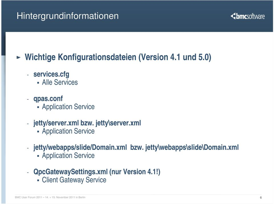 xml Application Service - jetty/webapps/slide/domain.xml bzw. jetty\webapps\slide\domain.