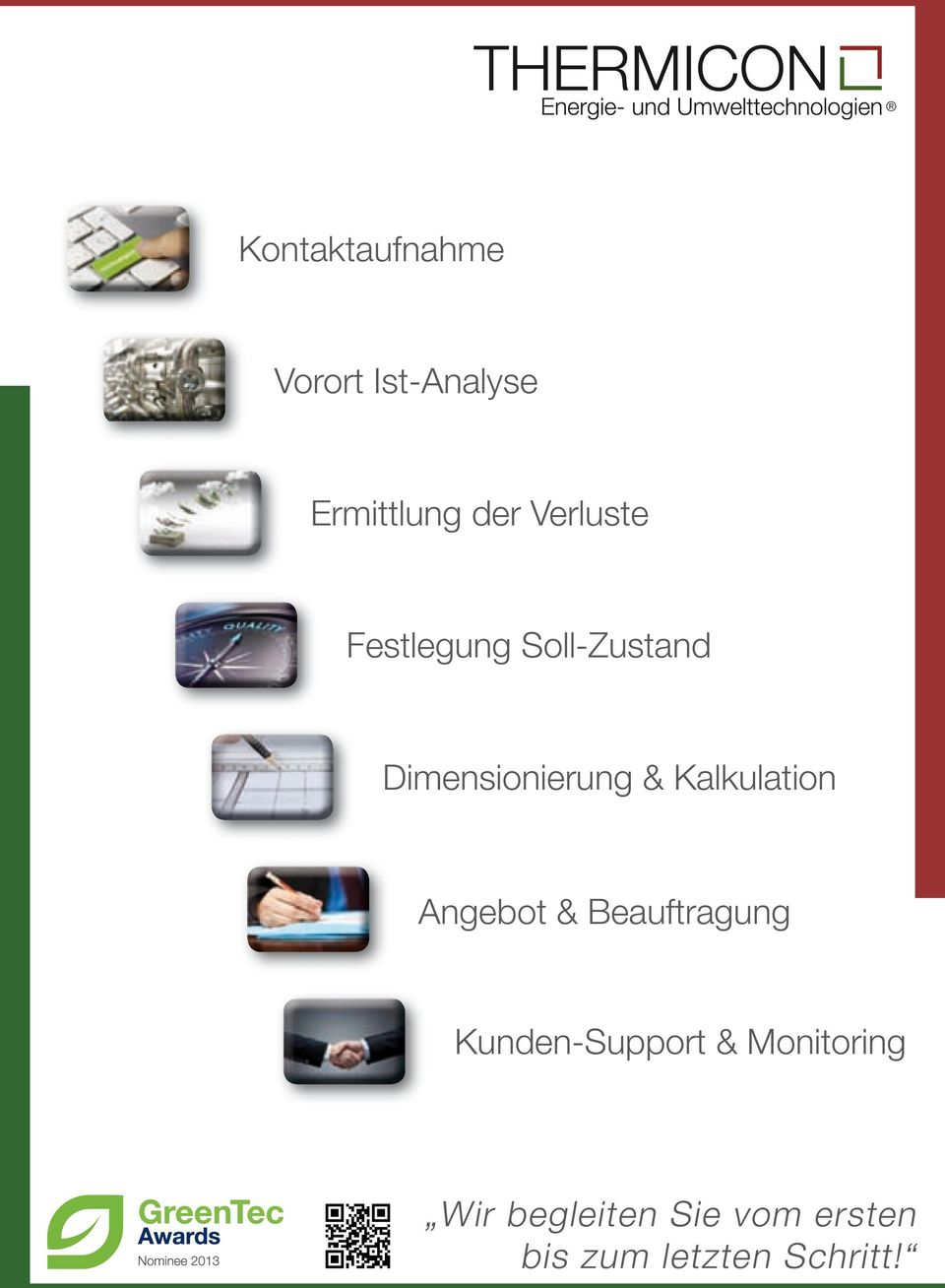 Kalkulation Angebot & Beauftragung Kunden-Support &