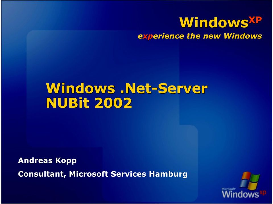 Net-Server NUBit 2002 Andreas