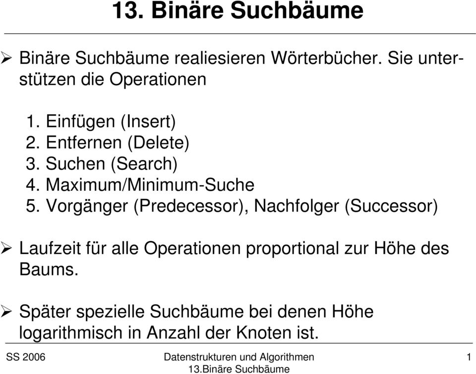 Maximum/Minimum-Suche 5.