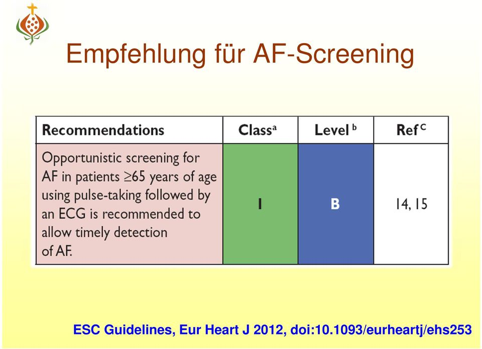 Guidelines, Eur Heart