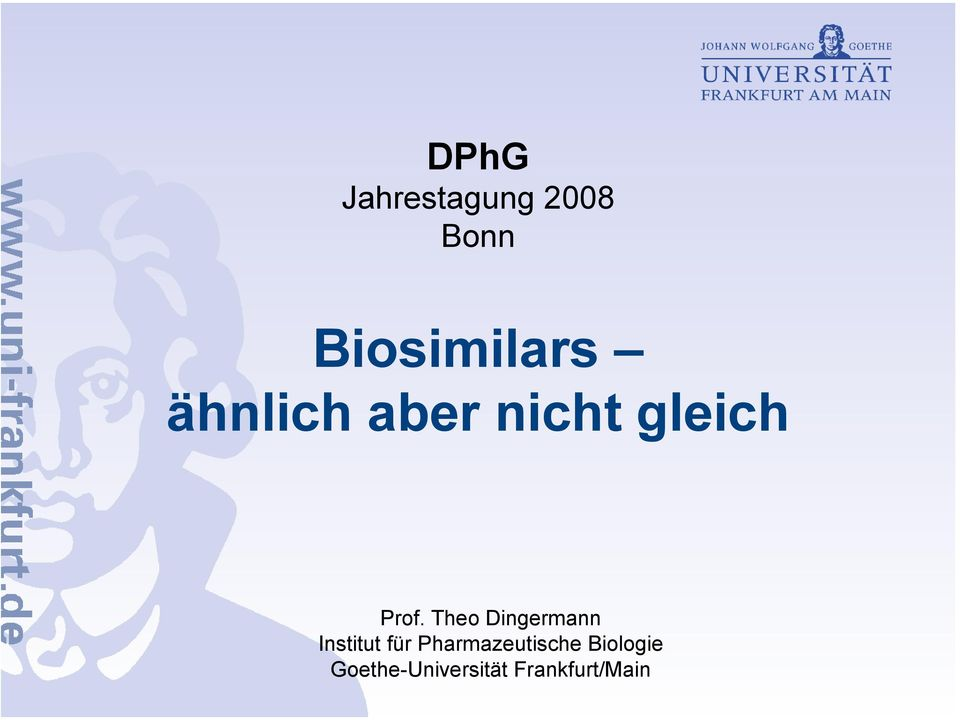 Theo Dingermann Institut für