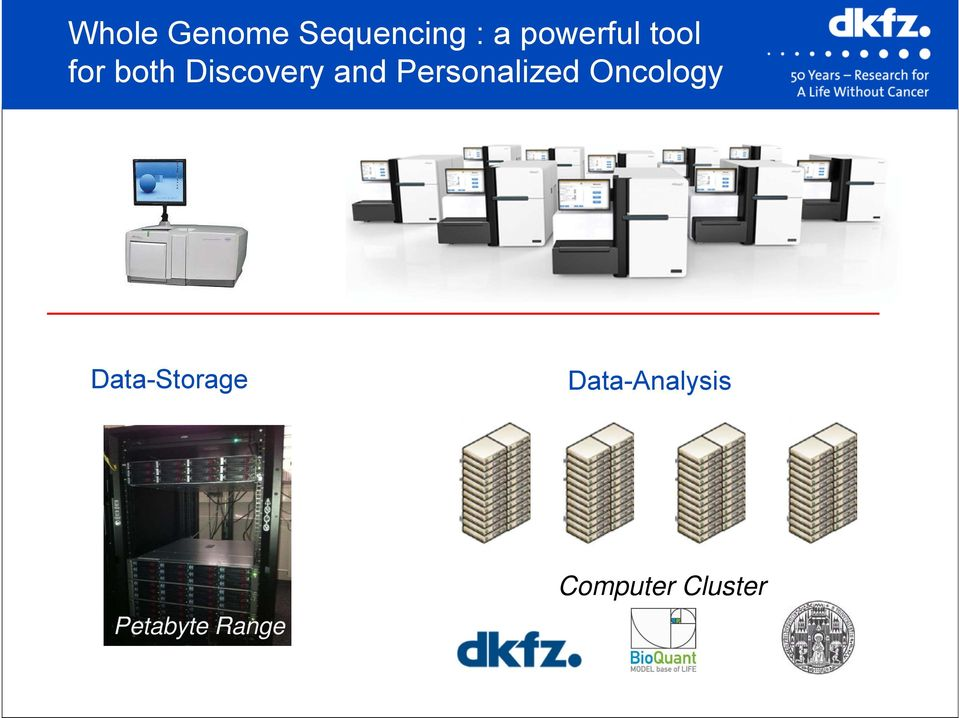 Personalized Oncology Data-Storage