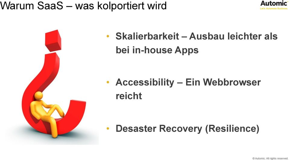 bei in-house Apps Accessibility Ein