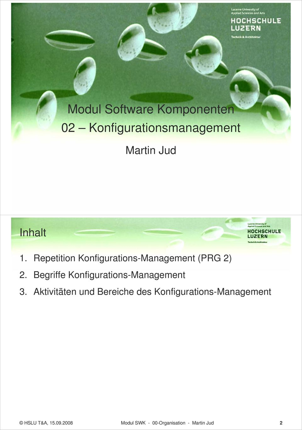 Begriffe Konfigurations-Management 3.
