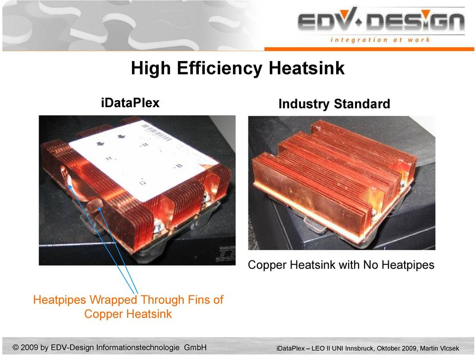 Copper Heatsink with No Heatpipes