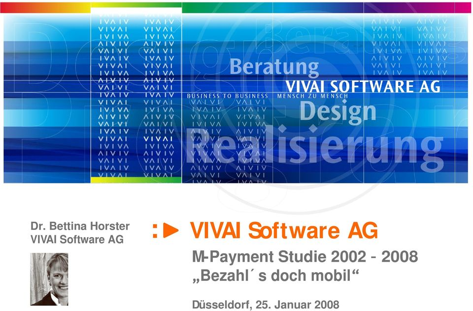 VIVAI Software AG M-Payment Studie