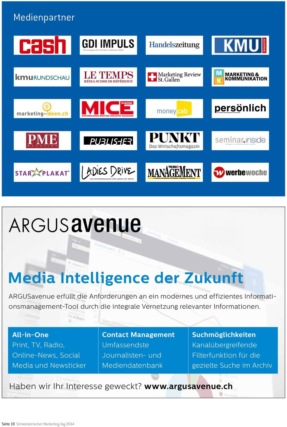 All-in-One Print, TV, Radio, Online-News, Social Media und Newsticker Contact Management Umfassendste Journalisten- und
