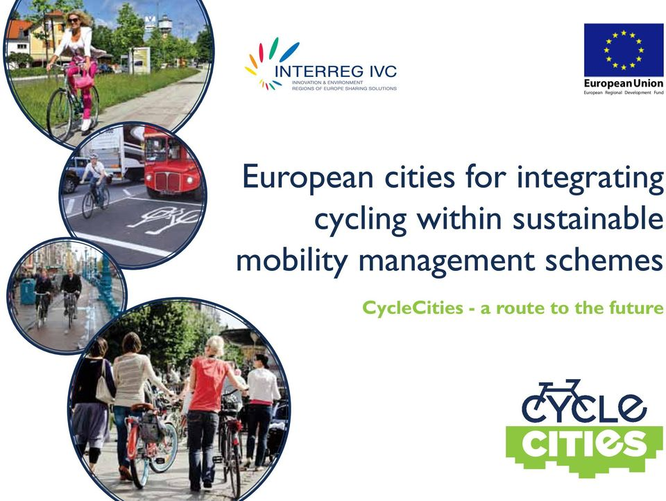 sustainable  mobility management schemes CycleCities -