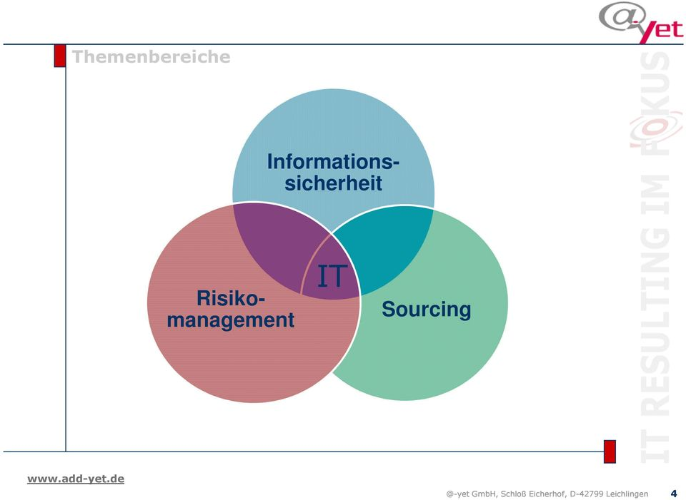Risikomanagement IT Sourcing