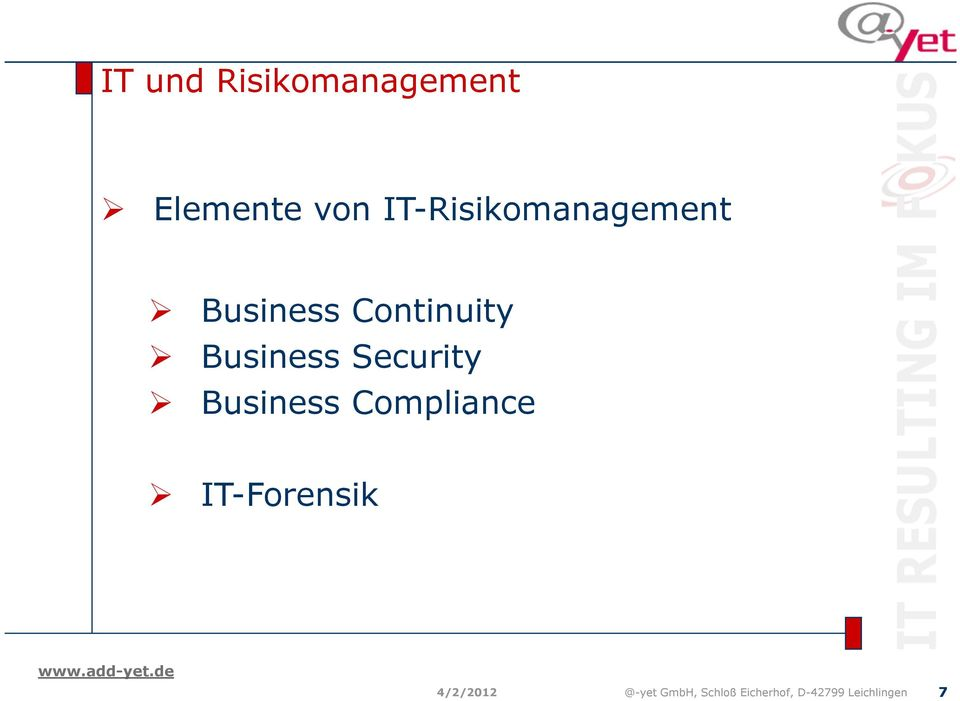 Business Security Business Compliance