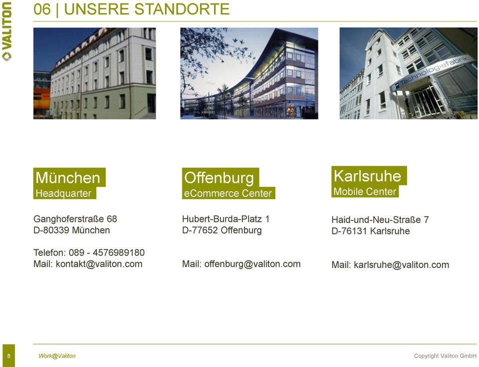 com Offenburg ecommerce Center Hubert-Burda-Platz 1 D-77652 Offenburg Mail: