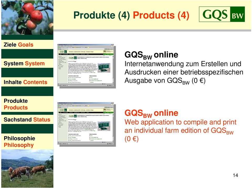 GQS BW (0 ) GQS BW online Web application to compile