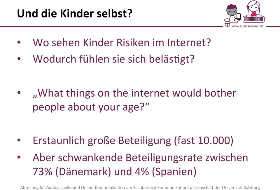 What things on the internet would bother people about your age?