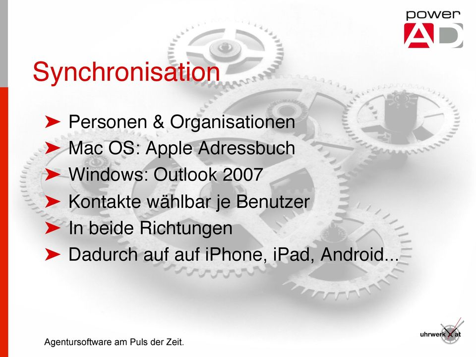 Windows: Outlook 2007!