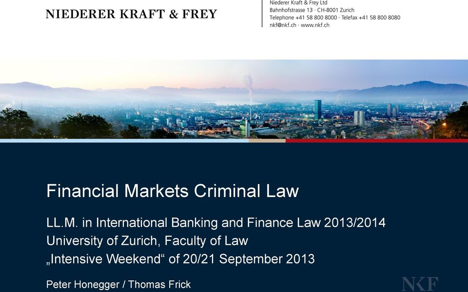 in International Banking and Finance Law 2013/2014