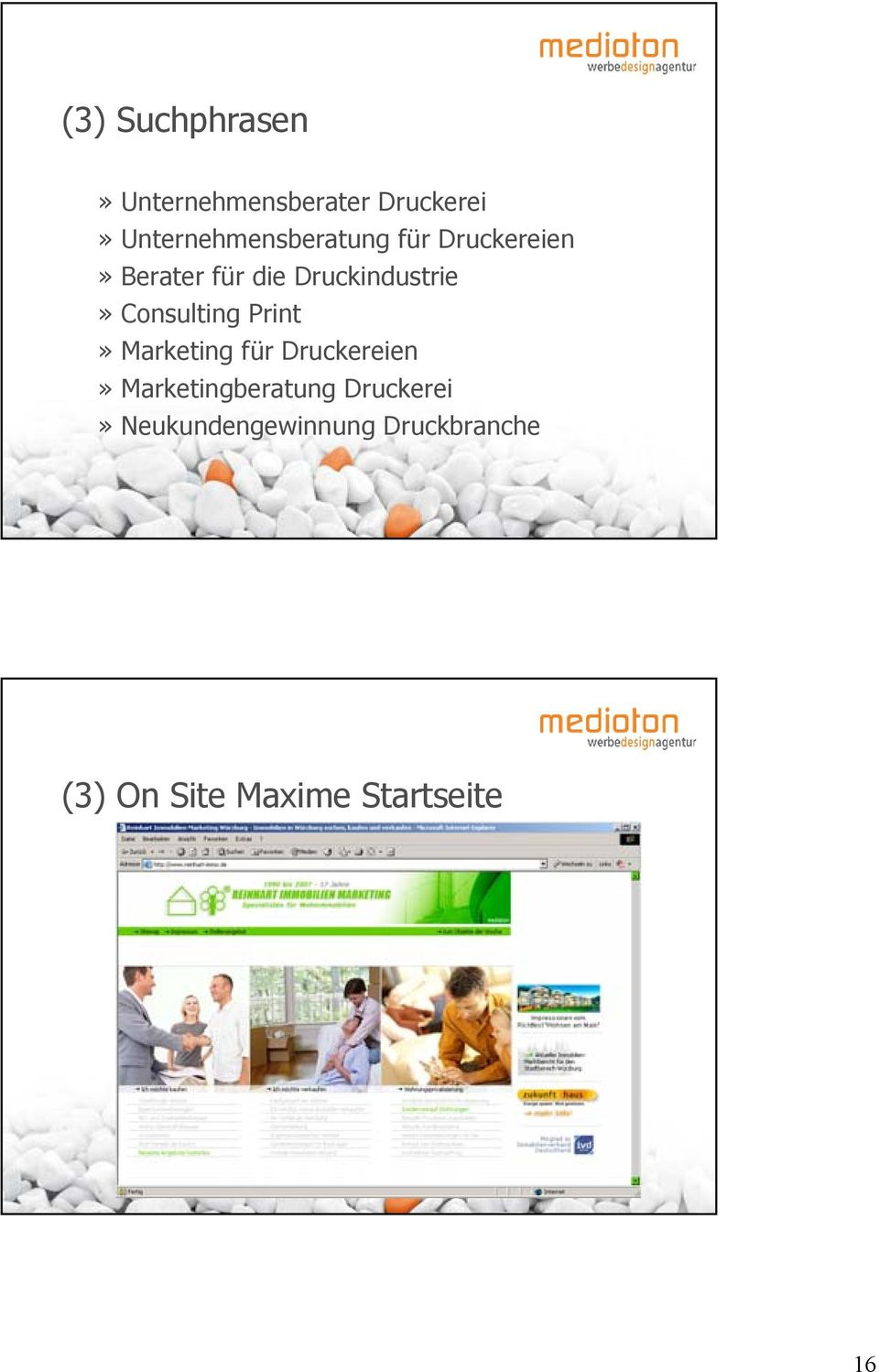Druckindustrie» Consulting Print» Marketing für Druckereien»