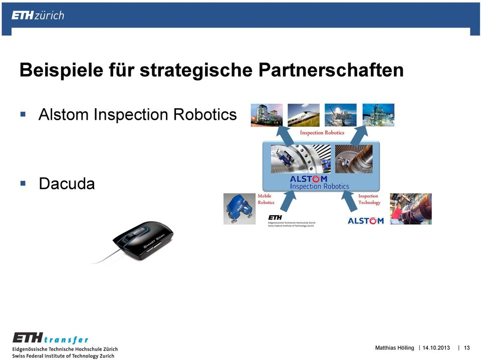 Inspection Robotics Dacuda