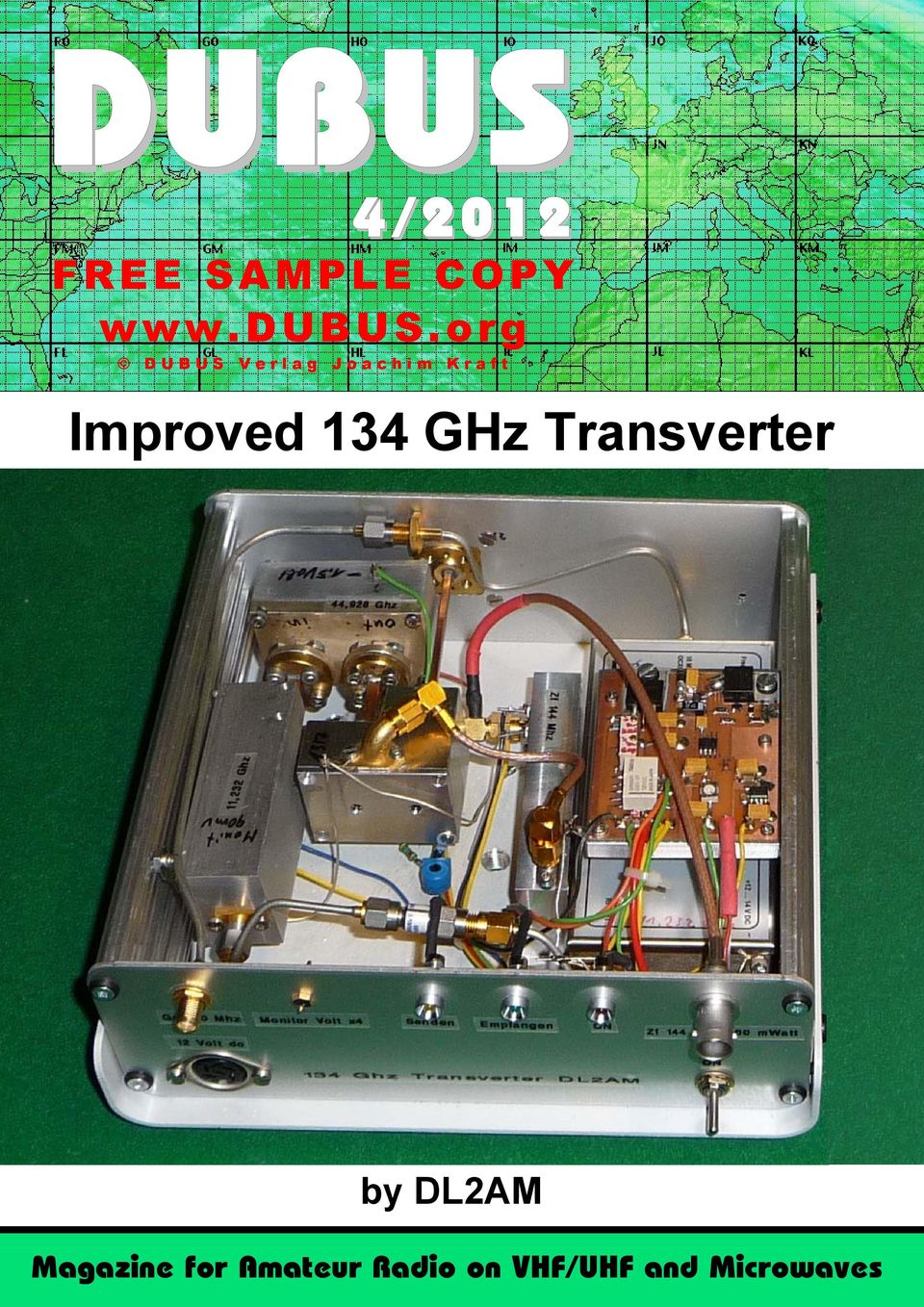134 GHz Transverter by DL2AM Magazine
