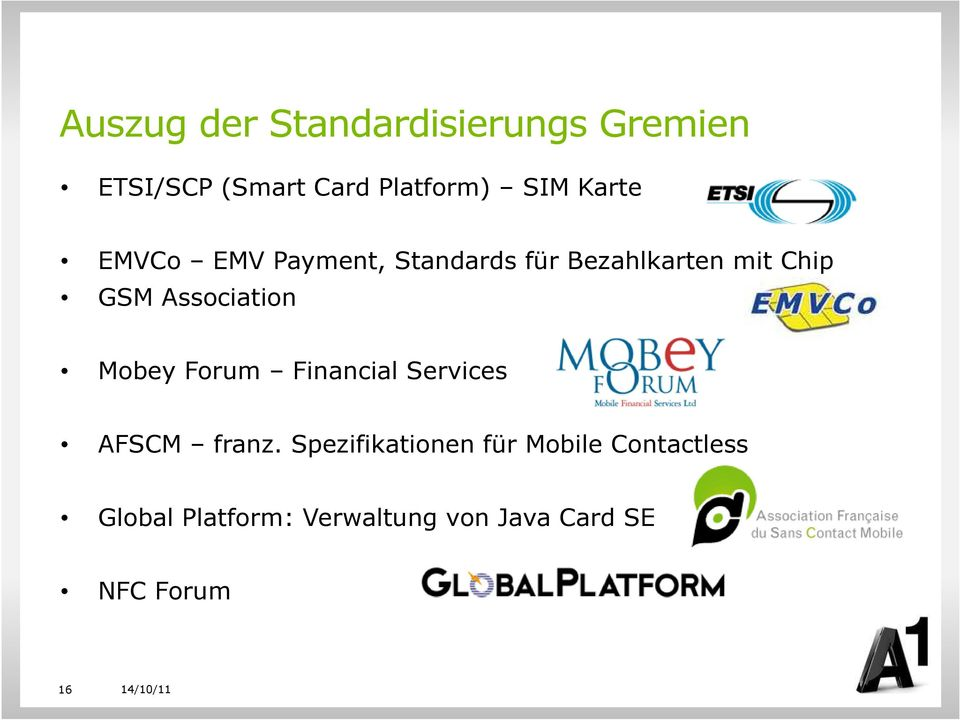 Association Mobey Forum Financial Services AFSCM franz.