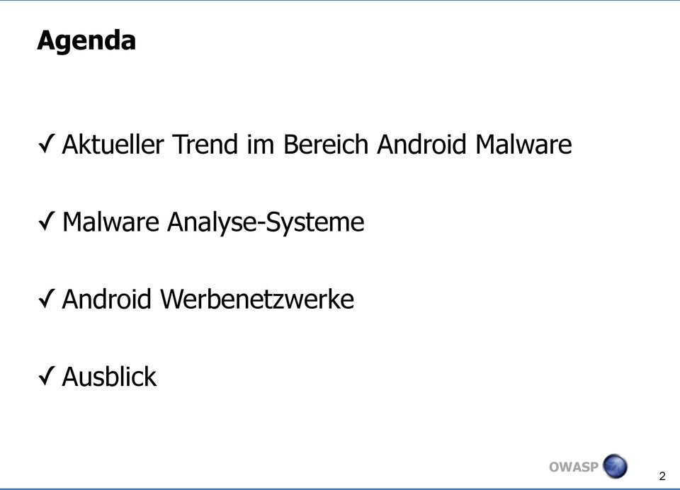 Malware Analyse-Systeme