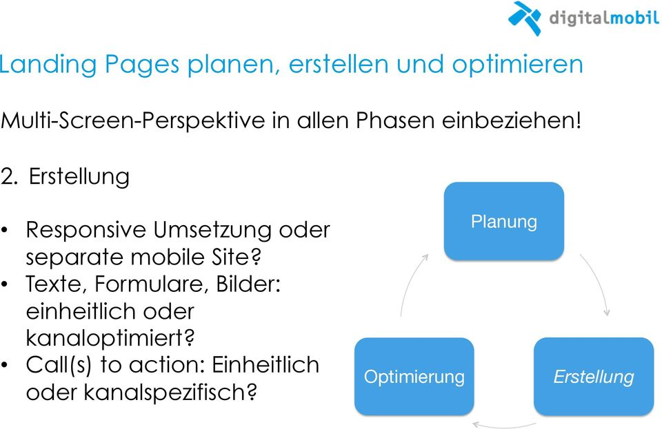 Erstellung Responsive Umsetzung oder separate mobile Site?