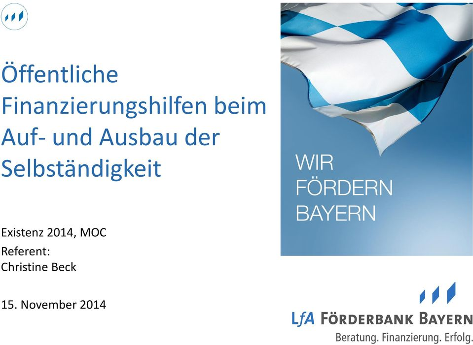 Existenz 2014, MOC Referent: Christine
