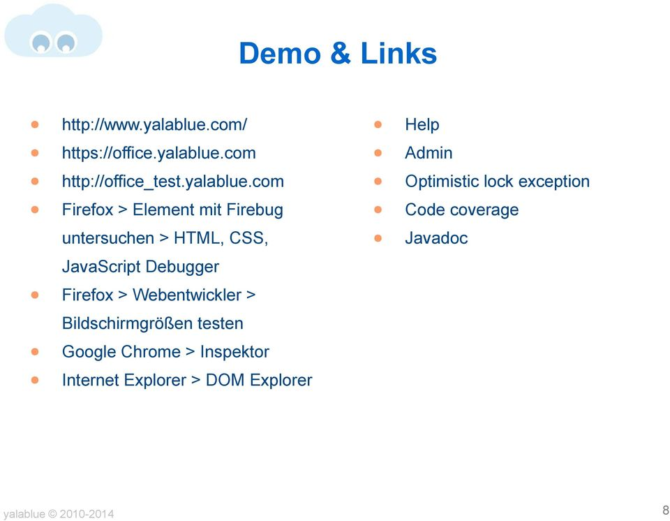 com Firefox > Element mit Firebug untersuchen > HTML, CSS, JavaScript Debugger Firefox >