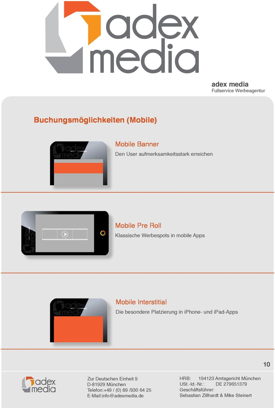 Klassische Werbespots in mobile Apps Mobile Interstitial