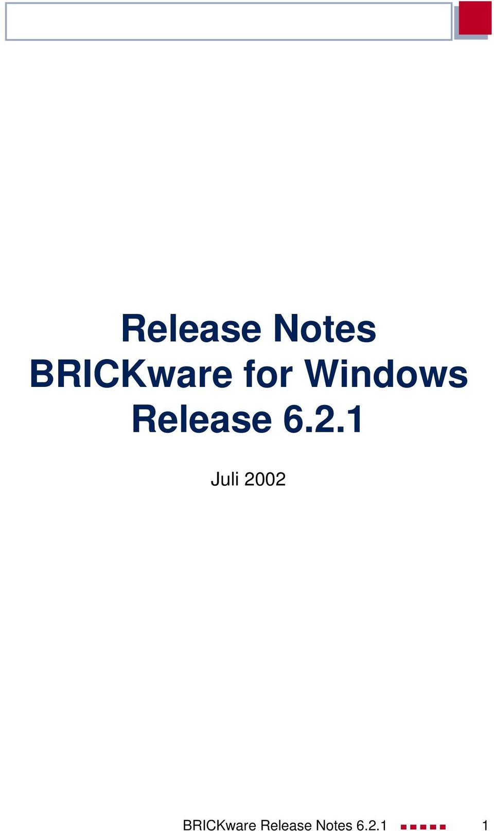 Release 6.2.
