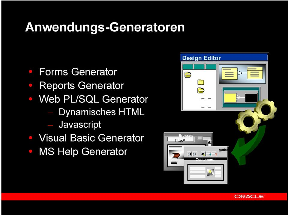 Basic Generator MS Help Generator Design Editor Browser: