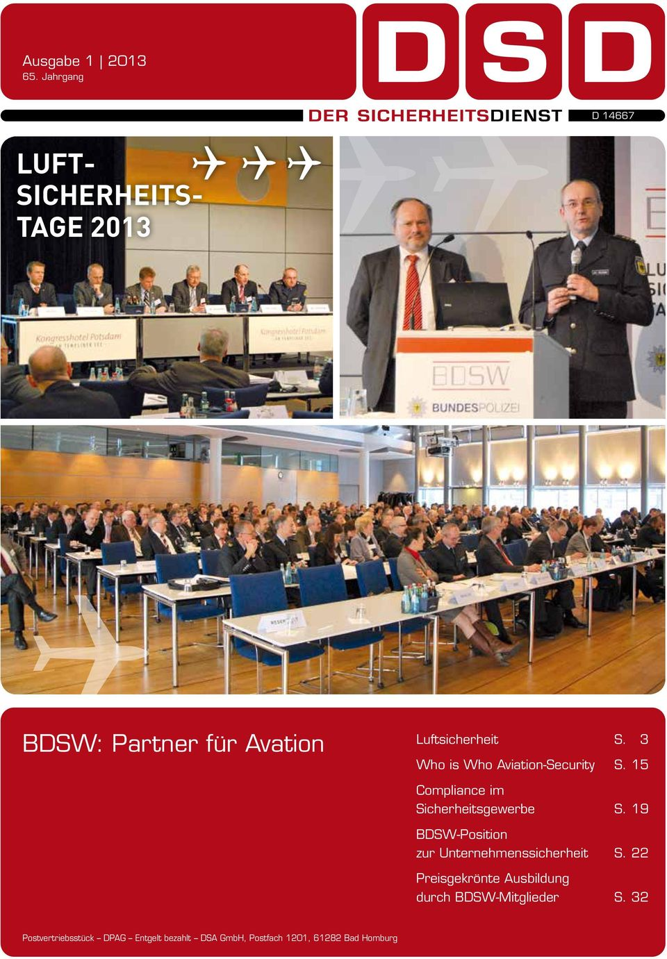 3 Who is Who Aviation-Security S. 15 Compliance im Sicherheitsgewerbe S.