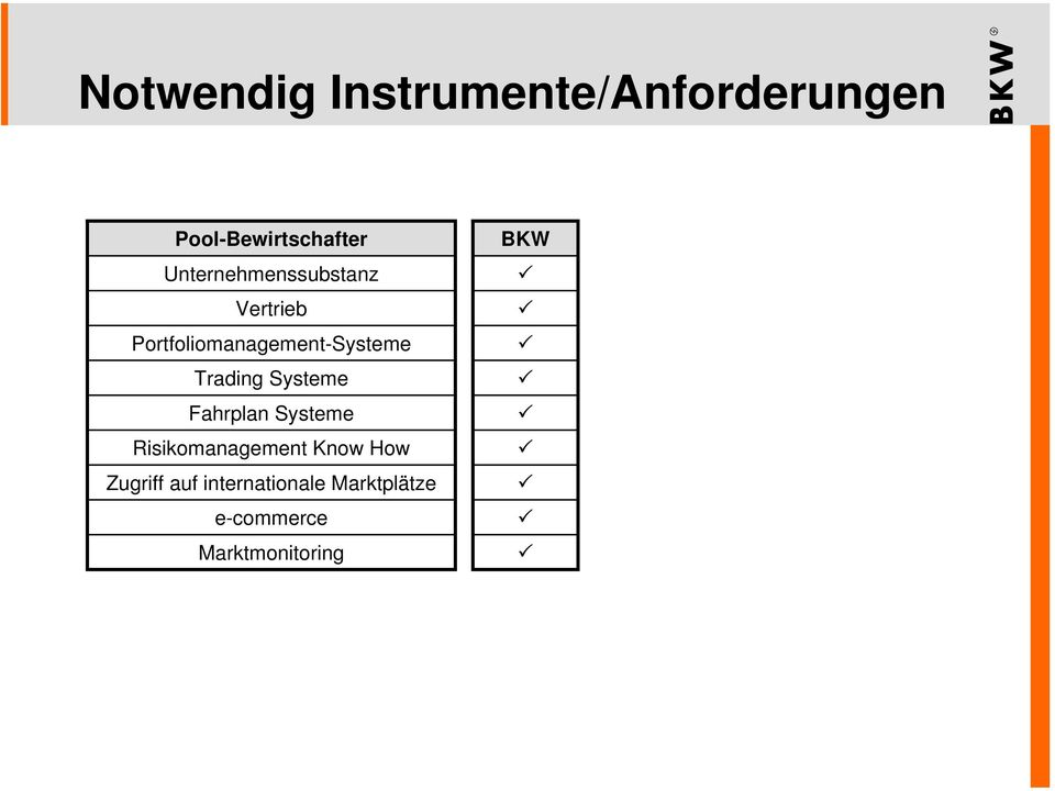 Trading Systeme Fahrplan Systeme Risikomanagement Know How